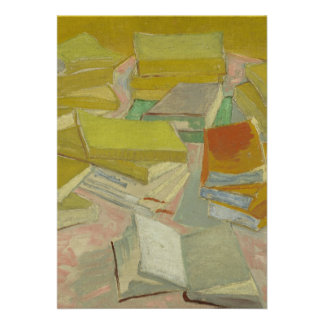 Vincent van Gogh - Piles of French novels Invite