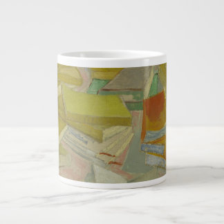 Vincent van Gogh - Piles of French novels Large Coffee Mug