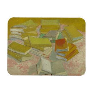 Vincent van Gogh - Piles of French novels Flexible Magnets