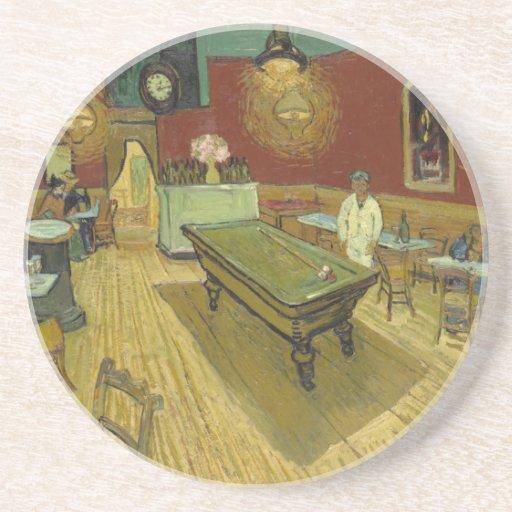 Vincent Van Gogh -  Pool Hall Beverage Coaster