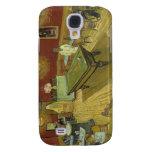 Vincent Van Gogh -  Pool Hall Galaxy S4 Cases