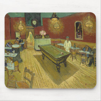 Vincent Van Gogh -  Pool Hall Mouse Pad