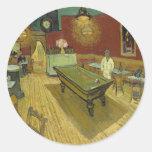 Vincent Van Gogh -  Pool Hall Stickers