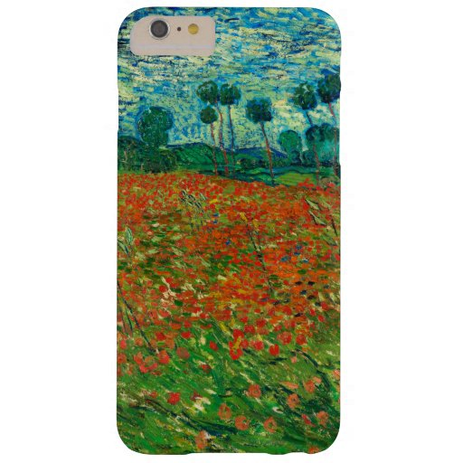 Vincent Van Gogh Poppy Field Fine Art Barely There iPhone 6 Plus Case