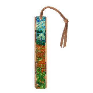 Vincent Van Gogh Poppy Field Floral Vintage Art Bookmark