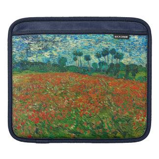 Vincent Van Gogh Poppy Field Floral Vintage Art iPad Sleeves