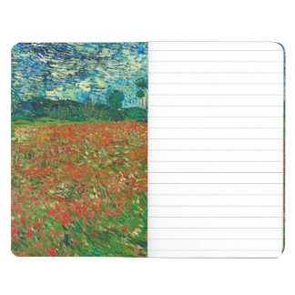 Vincent Van Gogh Poppy Field Floral Vintage Art Journal
