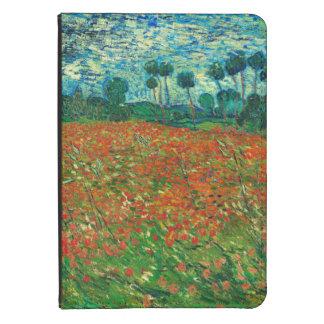 Vincent Van Gogh Poppy Field Floral Vintage Art Kindle Cover
