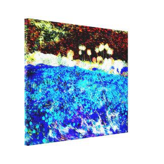 Vincent van Gogh - Poppy field (Modified) Canvas Print