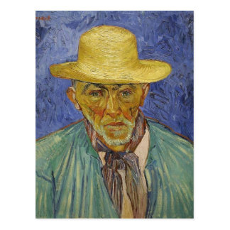 Vincent van Gogh Portrait of a Peasant (Patience E Postcard