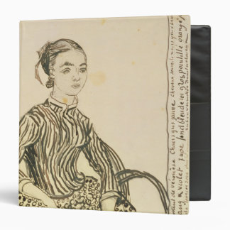 Vincent van Gogh | Portrait of a Young Girl, 1888 3 Ring Binder