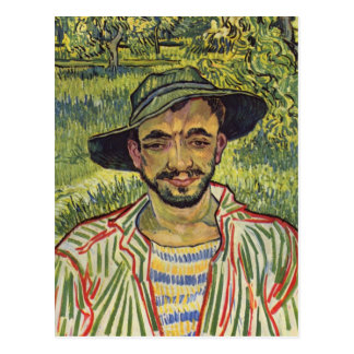 Vincent van Gogh - Portrait of a Young Peasant Postcard