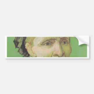 Vincent Van Gogh Portrait of Artist's Mother Art Bumper Sticker
