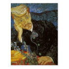 Vincent van Gogh Portrait of Dr. Gachet was painte Postcard