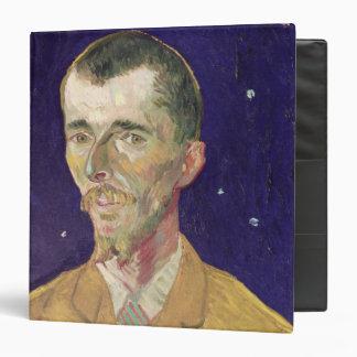 Vincent van Gogh   Portrait of Eugene Boch  1888 3 Ring Binder