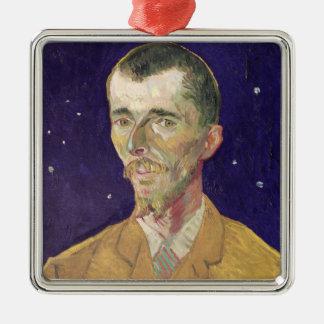 Vincent van Gogh   Portrait of Eugene Boch  1888 Metal Ornament
