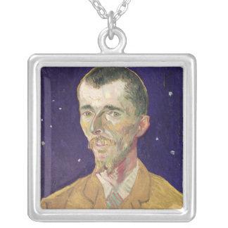 Vincent van Gogh   Portrait of Eugene Boch  1888 Silver Plated Necklace