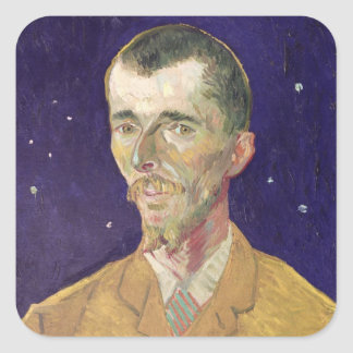 Vincent van Gogh   Portrait of Eugene Boch  1888 Square Sticker