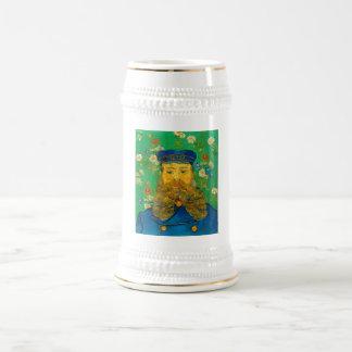Vincent van Gogh - Portrait of Joseph Roulin Beer Stein