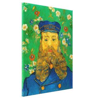Vincent van Gogh - Portrait of Joseph Roulin Canvas Print