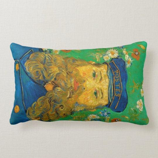 Vincent van Gogh - Portrait of Joseph Roulin Lumbar Pillow