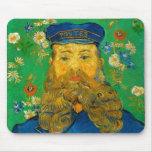 Vincent van Gogh - Portrait of Joseph Roulin Mouse Pad