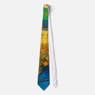 Vincent van Gogh - Portrait of Joseph Roulin Neck Tie