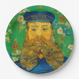 Vincent van Gogh - Portrait of Joseph Roulin Paper Plate