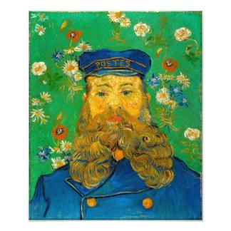 Vincent van Gogh - Portrait of Joseph Roulin Photograph