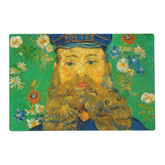 Vincent van Gogh - Portrait of Joseph Roulin Placemat