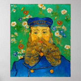 Vincent van Gogh Portrait of Joseph Roulin Poster