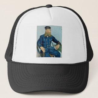 Vincent Van Gogh Portrait of Postman Joseph Roulin Trucker Hat
