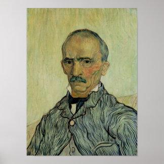 Vincent van Gogh | Portrait of Superintendant Poster
