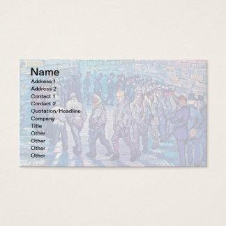 Vincent Van Gogh - Prisoners Walking The Round Business Card