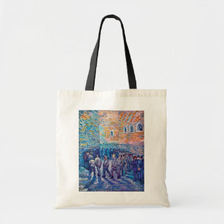 Vincent Van Gogh - Prisoners Walking The Round Tote Bag
