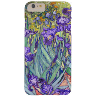 Vincent Van Gogh Purple Irises Floral Fine Art Barely There iPhone 6 Plus Case