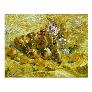 Vincent van Gogh Quinces, Lemons, Pears and Grapes Postcard