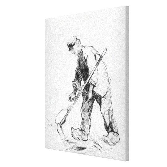 Vincent van Gogh | Reaper Canvas Print