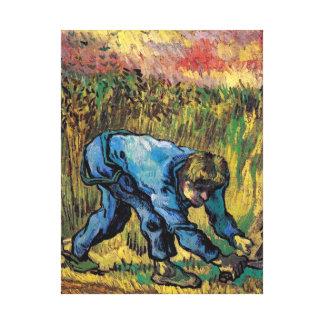 Vincent Van Gogh - Reaper With Sickle - Fine Art Canvas Print
