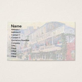 Vincent Van Gogh - Restaurant De La Sirene Business Card