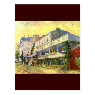 Vincent Van Gogh Restaurant de La Sirene Postcard