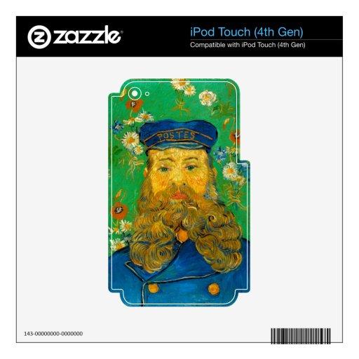Vincent van Gogh - retrato de José Roulin iPod Touch 4G Calcomanía