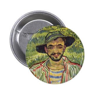 Vincent van Gogh - retrato de un campesino joven Pins
