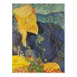 Vincent van Gogh - retrato del Dr. Gachet Postales