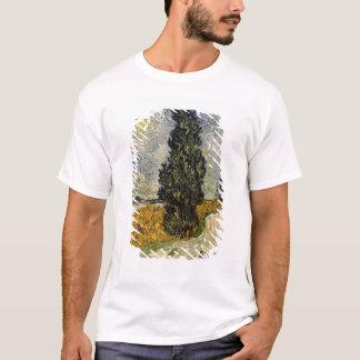 Vincent van Gogh | Road with Cypresses, 1890 T-Shirt