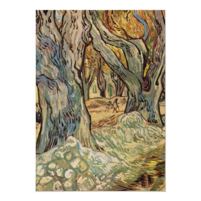 Vincent van Gogh - Road Workers Card