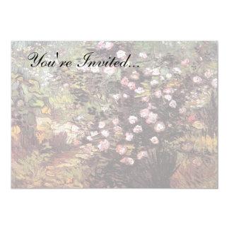 Vincent Van Gogh - Rosebush In Blossom Fine Art Card