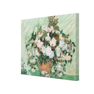 Vincent van Gogh   Roses, 1890 Canvas Print