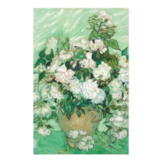Vincent van Gogh Roses Stationery