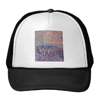 Vincent Van Gogh -  Round of Prisoners Trucker Hat